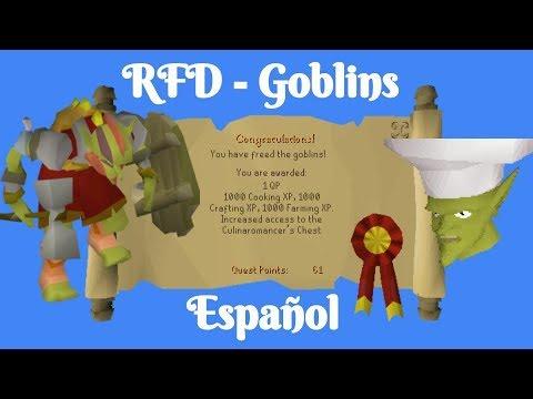 [OSRS] Recipe For DIsaster - Goblins (Español)