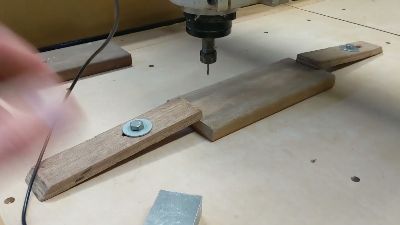 Making a Guitar fret board.   Well just doing some testing really!!