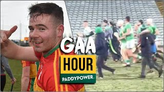Limerick warm down with fans, Carlow rising and Páirc