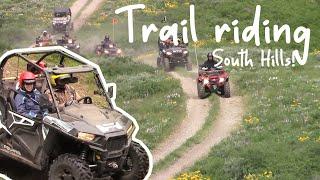 Trail riding through the South Hills! | Southern Idaho |