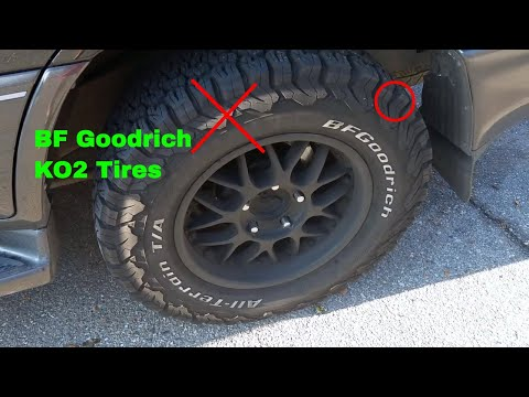 ✅  How To Use BF Goodrich KO2 All terrain Tires Review