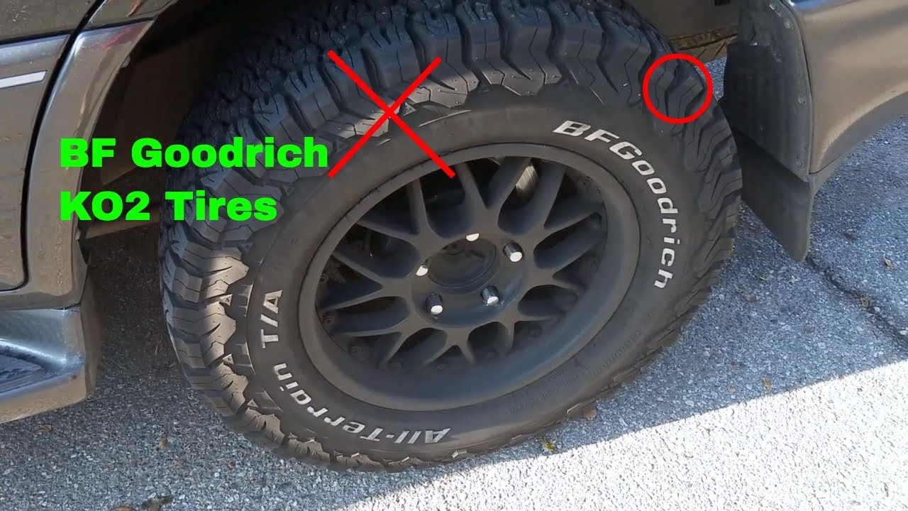 how to use bf goodrich ko2 all terrain tires review youtube. Black Bedroom Furniture Sets. Home Design Ideas