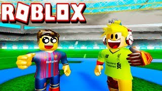 Roblox: TPS Ultimate Soccer - Amistoso: Liverpool vs Barcelona !!!