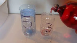 How to Measure 4 Litres, with a 5 Litre and 3 Litre Container - Step by Step Instructions - Tutorial