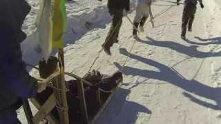 Boy Scouts - Klondike - Drifting The Sled