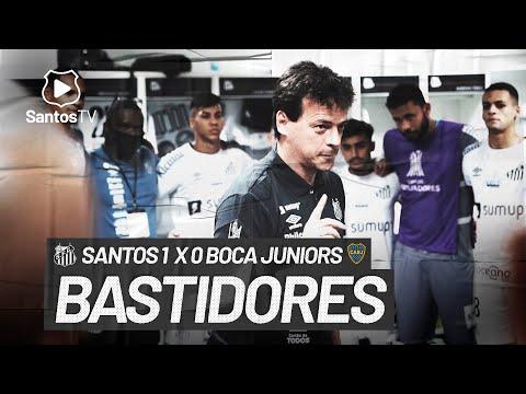 SANTOS 1 X 0 BOCA JUNIORS | BASTIDORES | CONMEBOL LIBERTADORES (11/05/21)