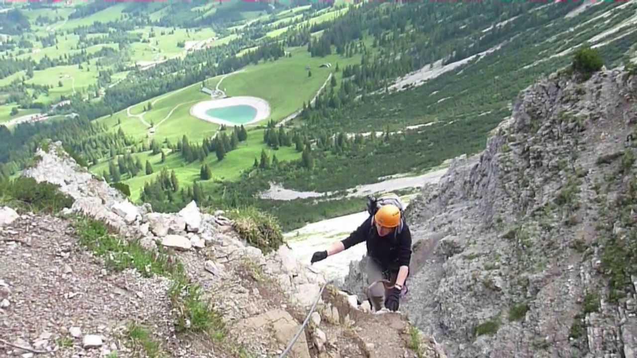 Klettersteig Salewa : Klettersteig salewa tour