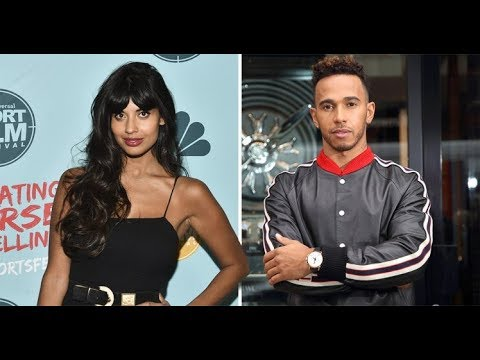 Jameela Jamil brands Lewis Hamilton a 'careless t**t' for mocking dress-wearing nephew