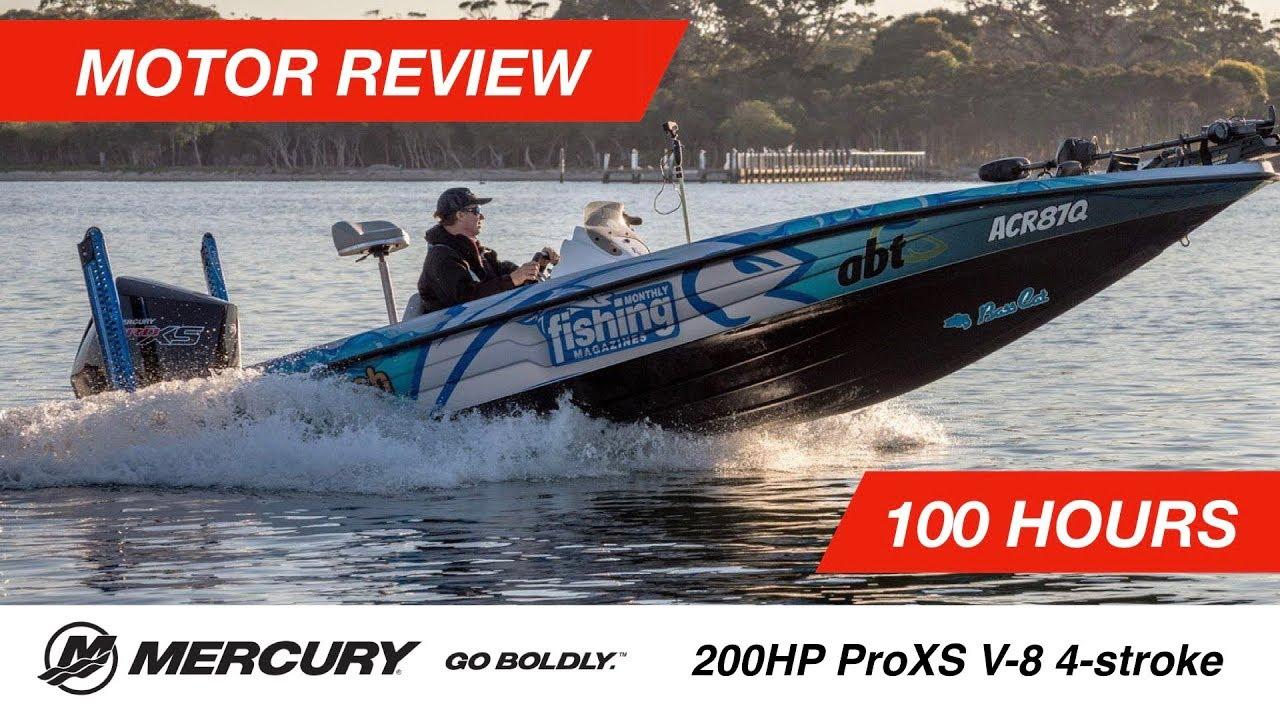 Tested | Mercury 200hp Pro XS V8 4 6L 4-stroke Outboard