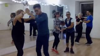 Сальса в Школе танцев Чино - Урок для продолжающих