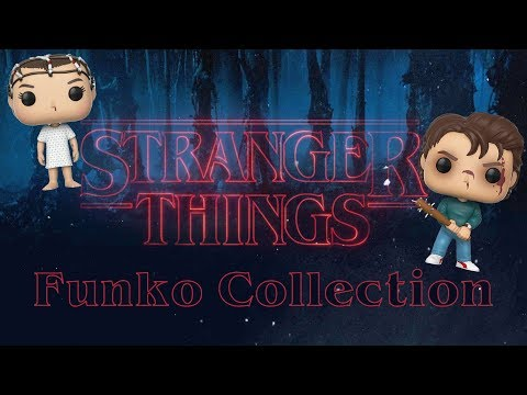 My Stranger Things Funko Pop Collection!