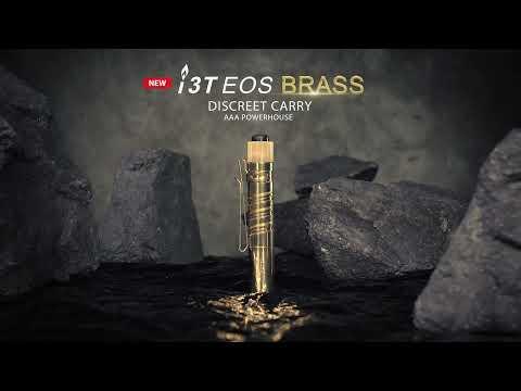 Senter Olight i3T EOS Brass Flashlight LED
