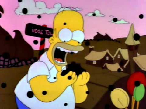 The Land of Chocolate - Simpsons Clip