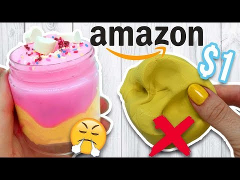 $1 AMAZON SLIME REVIEW Is it Worth it?