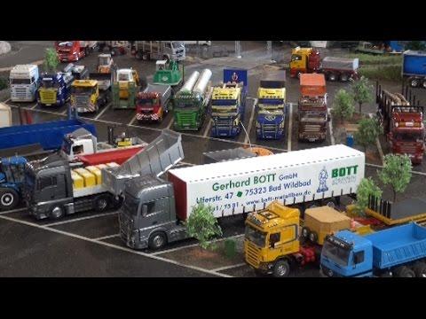 RC Trucks Excavator Construction Site LKW Baustelle ♦ Faszination Modellbau Friedrichshafen 2015