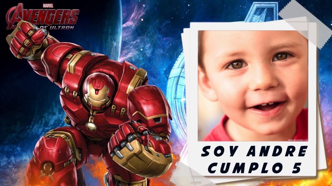 Invitación Animada Avengers Youtube