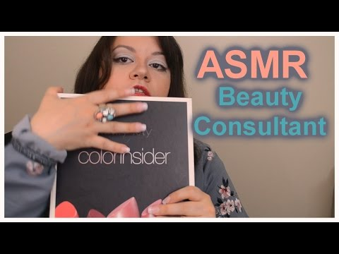 (( ASMR )) Roleplay : Beauty Consultant 2 (Blush & Lips) Makeup