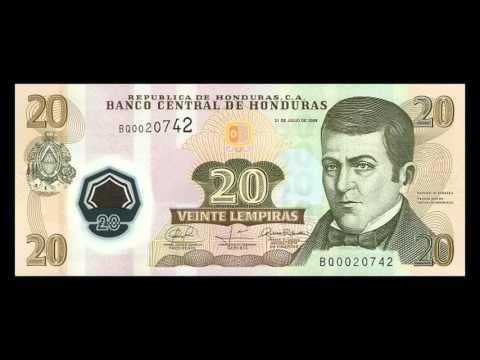 All Honduran Lempira Banknotes - 1992 To 2012 Issues