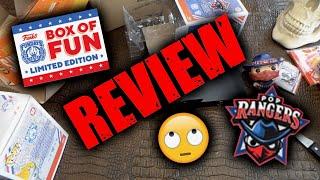 Funko Fundays 2021 Box of fun Review