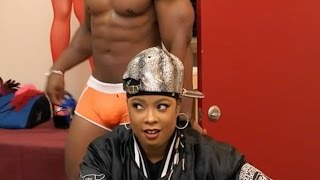 Da Brat Stars in Rickey Smiley For Real and cant keep her eyes off the package
