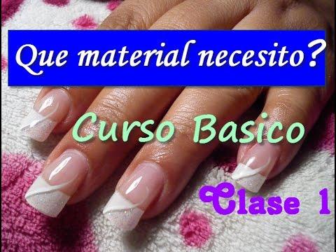 Curso Basico Uñas De Acrilico Paso A Paso Clase 1