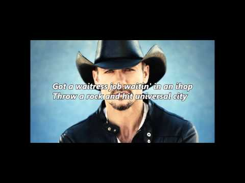 Tim McGraw - California (Lyrics Video)