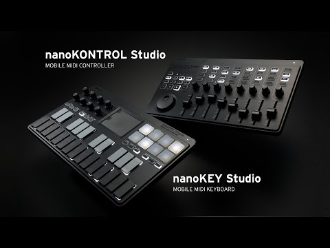 KORG nanoKEY Studio / nanoKONTROL Studio - Take Control Further