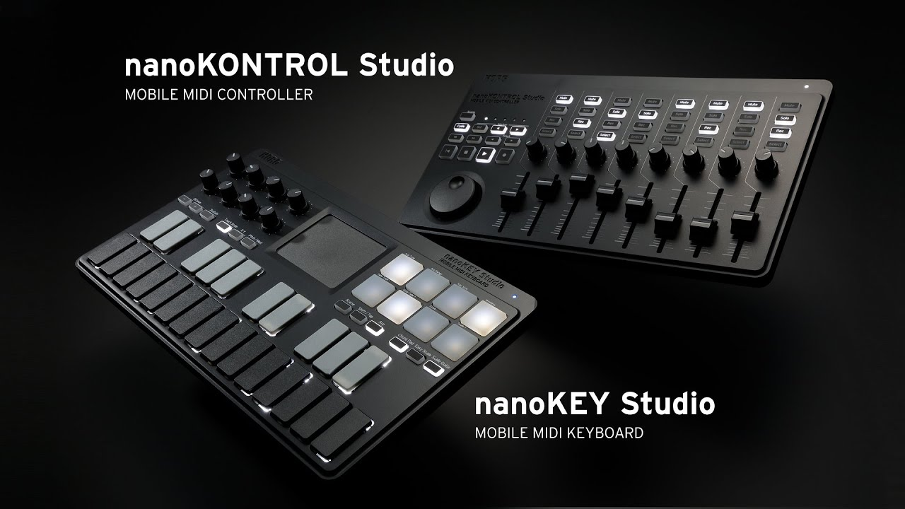 korg nanokey studio nanokontrol studio take control further youtube. Black Bedroom Furniture Sets. Home Design Ideas