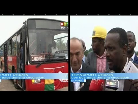 JT RTG DU 01 AOUT 2018  -Après Conakry Express, aboubacar Sylla met 22 bus en circulation