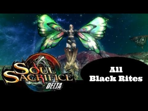 Soul Sacrifice DELTA PS VITA - 1080P ALL Nine Black Rites Demonstration / Discussion!