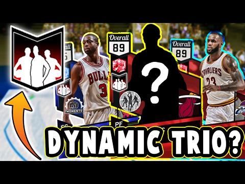 THE FIRST DYNAMIC TRIO?? | NBA 2K17 Miami Heat Big 3 MyTEAM Challenge!!
