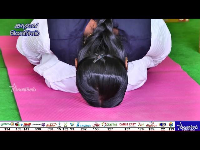 மனக்கவலை, பதட்டத்தில் இருந்துவிடுபட யோகா & முத்திரைகள் | yoga | Mutra | Krishnan Balaji