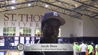 305 HOOPS Interviews: Jacob Shaw | Head Coach | Miami Beach Senior High
