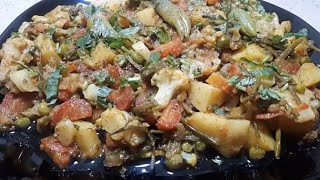 Mix Vegetable Recipe | Mix Sabzi Recipe | By *Cook With Hassan*