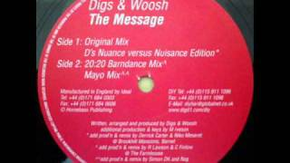 Digs & Woosh - The Message (Mayo Rmx) - DiY 32