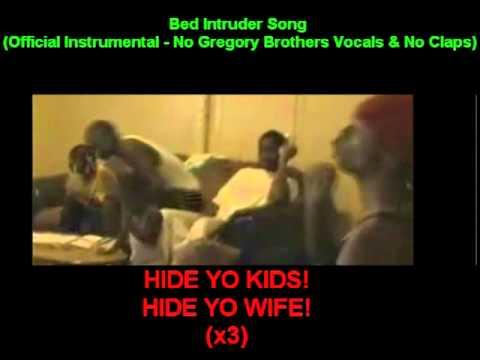 bed intruder song official instrumental with no vocals lyrics on