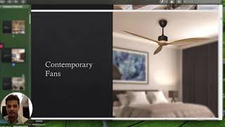Fanzart Contemporary Collection | Stylish Ceiling Fans with LED