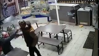 Драка резня бензопилой в баре в Сызрани реальная съемка момента   YouTube