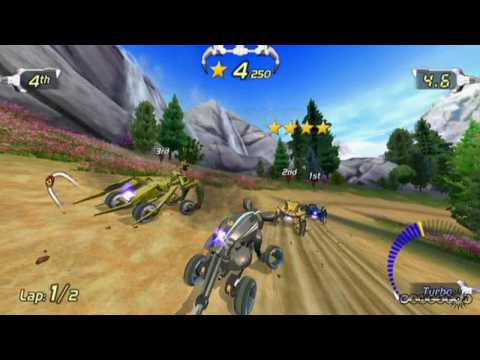 Excitebots: Trick Racing Video Review By GameSpot