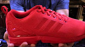 a7a92fe4d Adidas ZX Flux Sneaker Collegiate Burgundy Night Red Chalk White ...