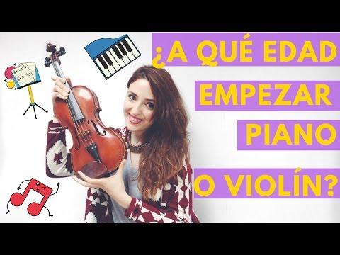 A qué edad empezar clases de piano/violín + 5 cosas que deberías saber