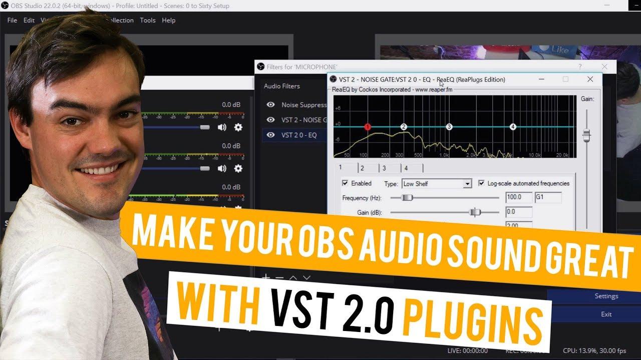 VST 2 Plugins for OBS - StreamGeeks