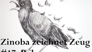 Rabe | Zinoba zeichnet Zeug #17