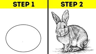 25 EASY DRAWING TRICKS FOR BEGINNERS AND PROS
