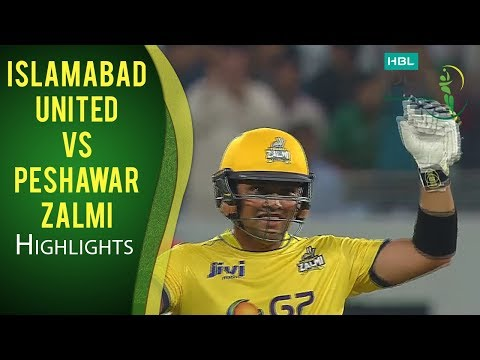 PSL 2017 Match 1: Islamabad United v Peshawar Zalmi Highlights