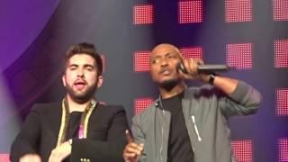 """Kendji et Soprano  """" No me mirès màs """" 7 février 2017 en concert à Marseille"""