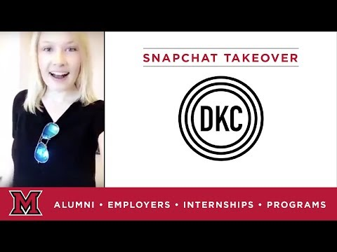Hannah's Public Relations Internship for DKC News in Chicago, IL