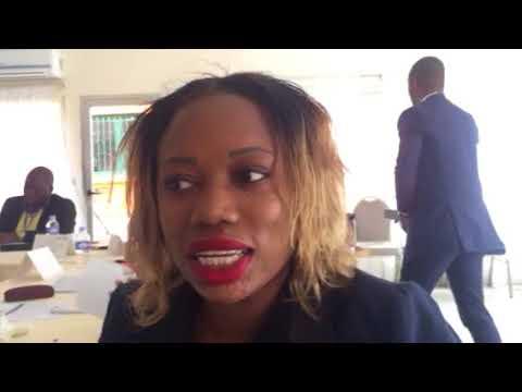 IPPRB Master Class. Maison de la Presse.Abj RCI. Interview Mrs Diabate. Consultante Protocolaire