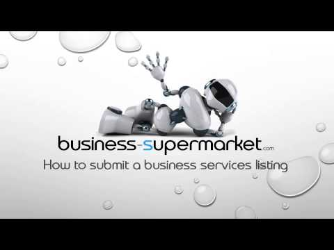 how to submit a business services listing