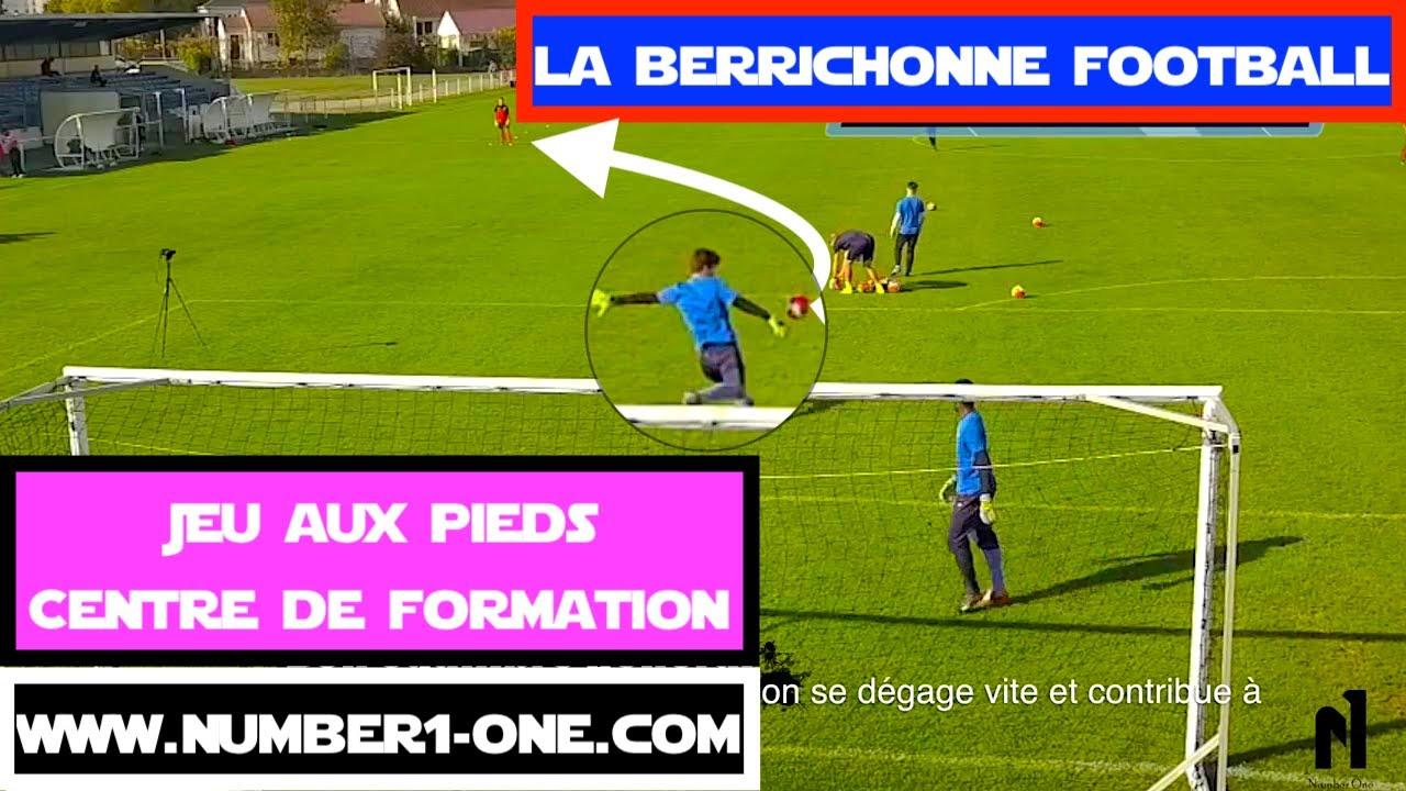 Spécifique gardien de but Jeux aux pieds Centre de Formation La Berrichonne  Châteauroux 139dc13ef36